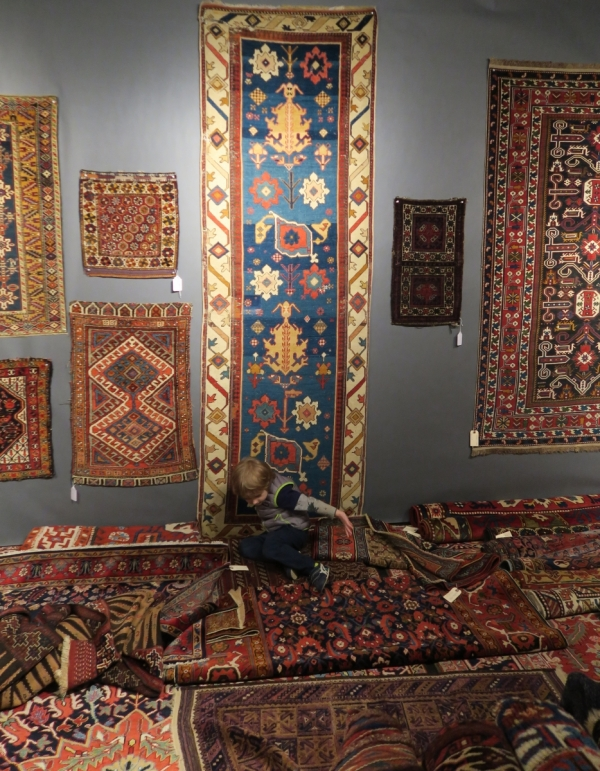 San Francisco Textile and Tribal Art Show 2018, Fazli Solak