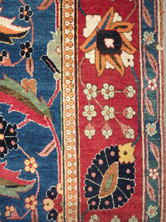 Alice De Rothschild Vase Carpets lot 101