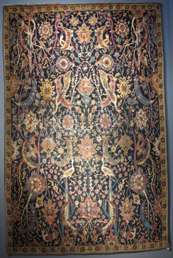 Alice De Rothschild Vase Carpets lot 102