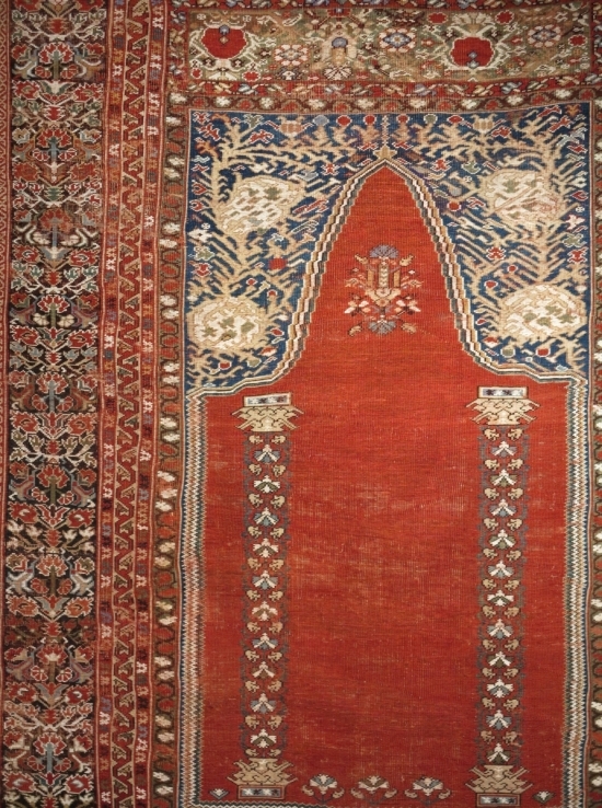 Ghiordes prayer rug lot 149