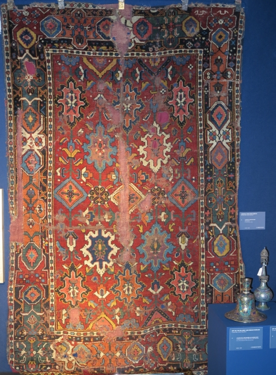A 'Tibetan Group' carpet, NW Persia or Anatolia, lot 25