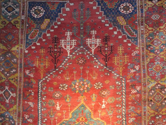 Fethiye or Dazkiri? Central Anatolian rug, lot 24