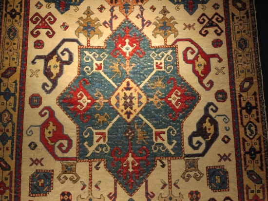 The Lehmann-Barenklau Kuba Medallion Carpet, lot 20