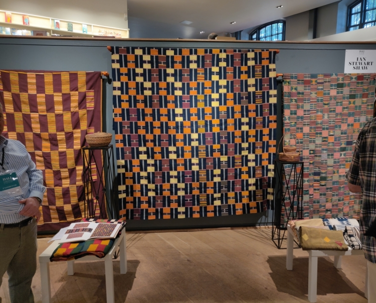 West African textiles with Ian Stewart Shaw