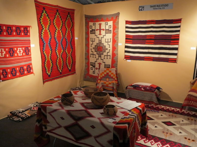 San Francisco Tribal and Textile Art Show: Tahoe Rug Studio
