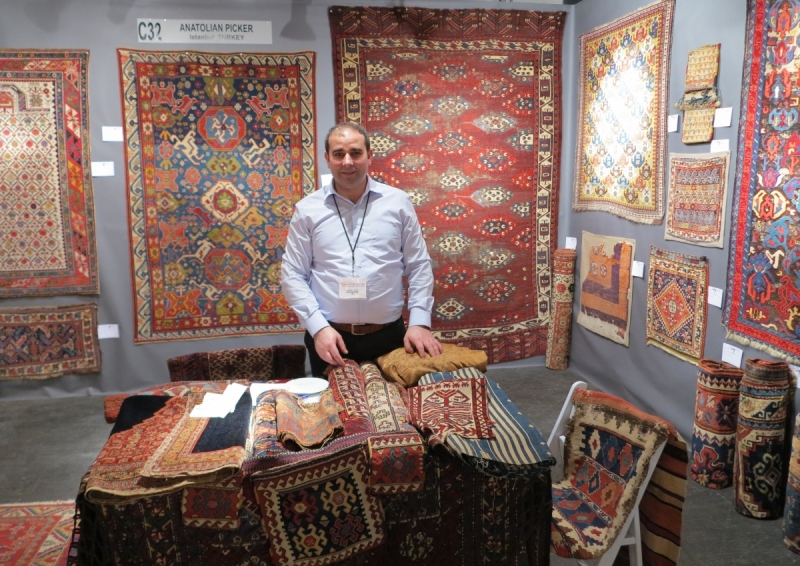 San Francisco Tribal and Textile Art Show: Anatolian Picker