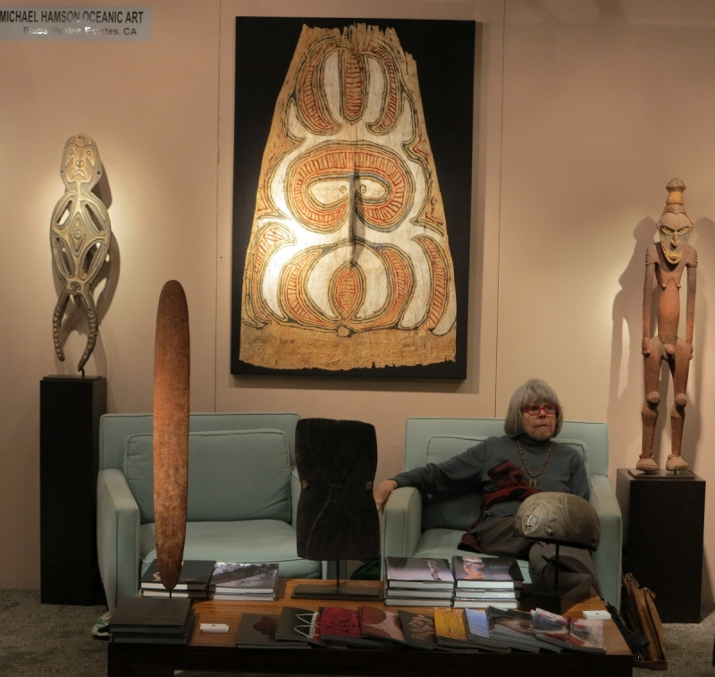 San Francisco Tribal and Textile Art Show: Michael Hamson Oceanic Art