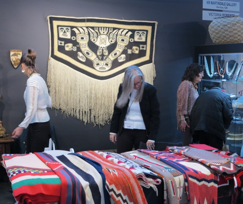 San Francisco Tribal and Textile Art Show, KR Martindale Gallery, Victoria Roberts