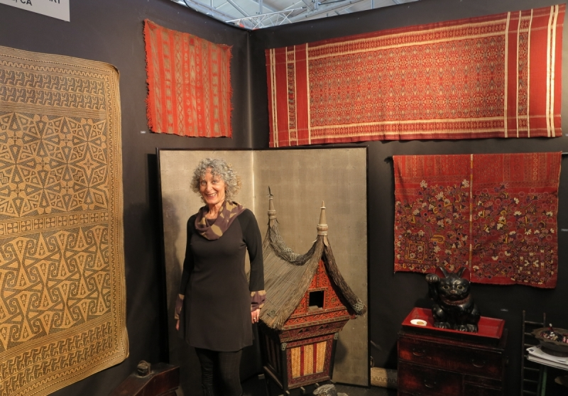 San Francisco Tribal and Textile Art Show: Zena Kruzick Tribal Art