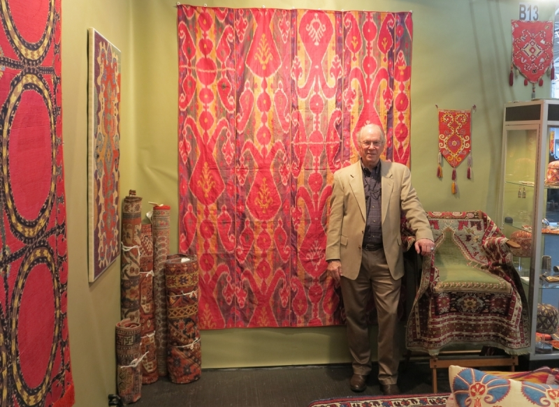 San Francisco Tribal and Textile Art Show, Casey Waller, Caravansarai