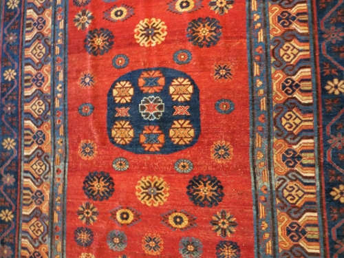 Khotan carpet, Benaki Museum of Islamic Art, Athens
