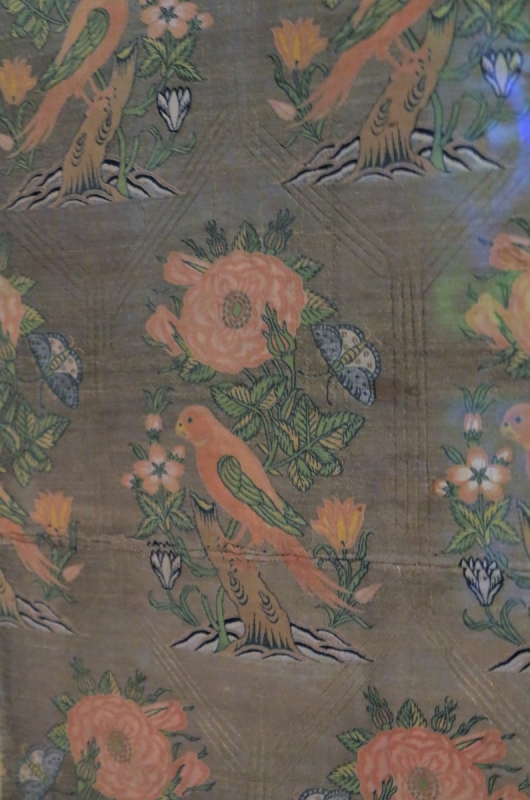 Safavid Persian silk, 17th century,  Benaki Museum of Islamic Art, Athens