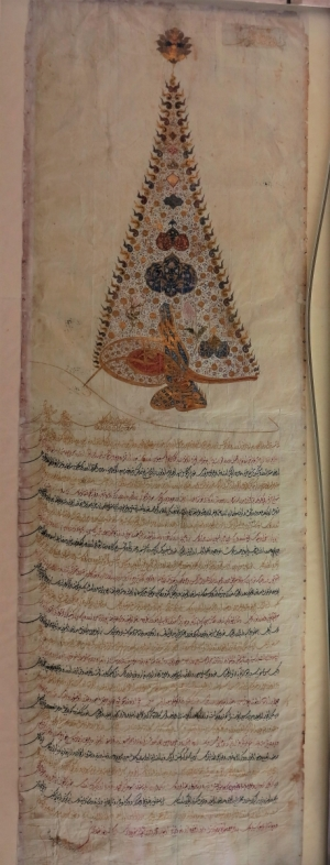 Ottoman firman with tugra, Benaki Museum of Islamic Art, Athens