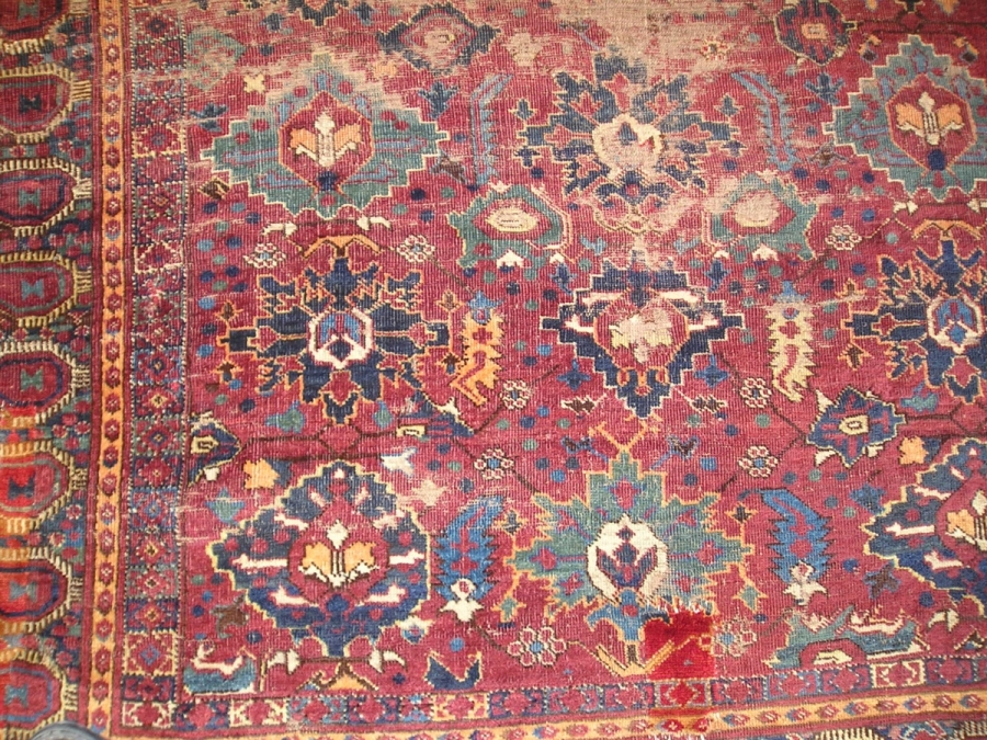 Ersari Bashir main carpet